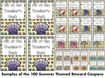 Reward Coupons {Seasons Theme} Set
