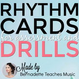 100 Rhythm Cards! For Teaching & Assessment