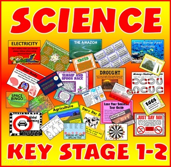 100 SCIENCE ACTIVITIES GAMES WORKSHEETS key stage 1-2 TEAC