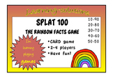 NUMBER FACTS GAME - SPLAT 100 - a Card Game adding multiples of 10 to 100