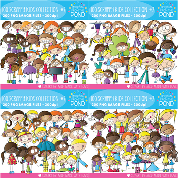 100 Scrappy Kids Collection - The Second Set