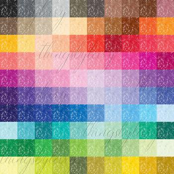 100 Seamless Color Metallic Foil Confetti Digital Papers