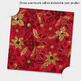 100 Seamless Glitter Gold Christmas Floral Digital Papers