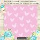 100 Seamless Hand Drawn Romantic Heart Digital Papers