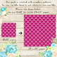 100 Seamless Heart Quilted Upholstery Leather Digital Papers