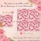 100 Seamless Love Pattern Digital Papers Valentine Wedding