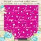 100 Seamless Love and Heart Digital Papers