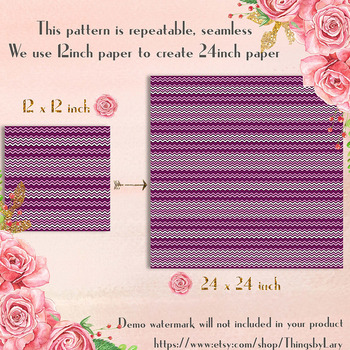 100 Seamless Tinted Wave Digital Papers