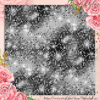 100 Seamless Shimmer Party Disco Texture Digital Papers