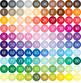 100 Seamless Tinted Dot Bokeh Digital Papers
