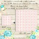 100 Seamless Vintage Shabby Chic Flower Border Digital Papers