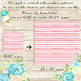 100 Seamless Watercolor Striped Digital Papers