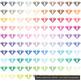 100 Side View Transparent Diamond Clip Arts, Wedding Diamond