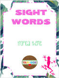 ALL Kindergarten High Frequency Words (Sight Words) Posters – Tropical