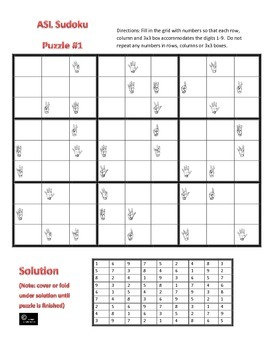 Sudoku Puzzles Worksheets Teaching Resources Tpt
