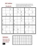 100 Sign Language (ASL) Sudoku Puzzles