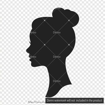 100 Silhouette Bridal Portrait Clip Arts Antique Wedding