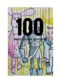 100 Sketchbook Prompts, Perfect to keep kids inspired all summer