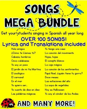 100+ Songs in Spanish ♬ - Mp3s {Mega Bundle}