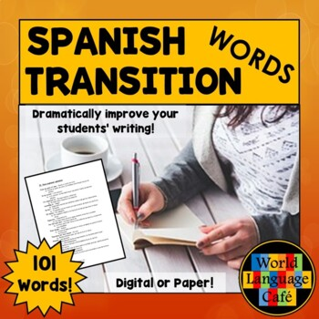 100 Spanish Transition Words to Improve Writing for Beginners to AP