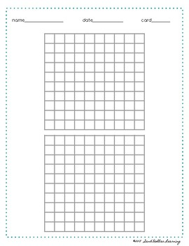 picture relating to 100 Square Printable called 100 Sq. Numeration / Graph Paper Printable Montessori Style and design