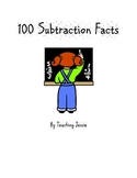 100 Subtraction Facts Worksheets
