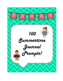100 Summertime Journal Prompts