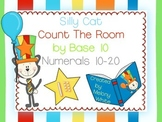 Silly Cat Count the Room by Base 10 Numerals 10-20