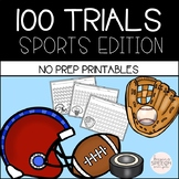 100 TRIALS - SPORTS EDITION FOR  NO PREP SPEECH THERAPY