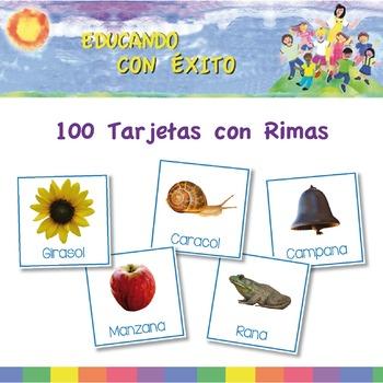 100 Tarjetas de Rimas