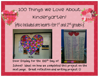 100 Things We Love About... {K, 1 or 2}