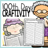 100 Things to Do Before I Turn 100 - 100th Day Craftivity