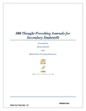 100 Thought Provoking Journals for Secondary Students