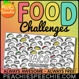 100 Trial Food Challenges by Peachie Speechie (Tacos, Pizz