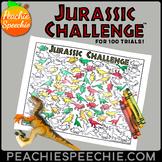 100 Trials Articulation Jurassic Challenge