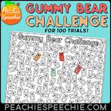 100 Trials Gummy Bear Challenge