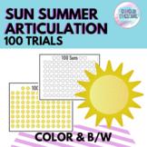 100 Trials Sun Summer