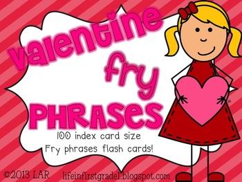 100 Valentine Fry Phrases