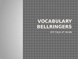 100 Vocabulary Bellringers