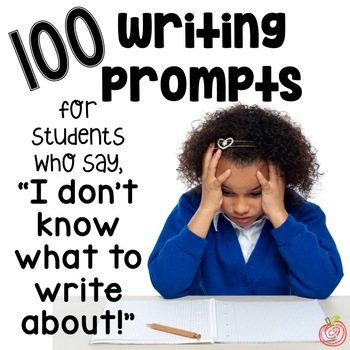 100 Creative Writing Prompts Distance Learning