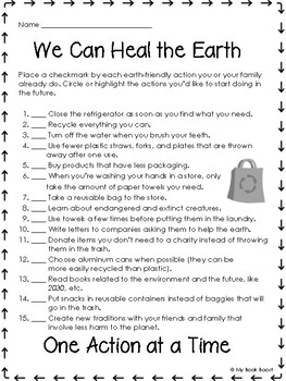 100 Ways To Heal The Earth