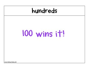"""""""100 Wins It"""" and """"0 Wins It"""""""