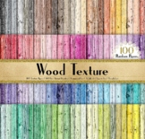"""100 Wood Texture Background in 8.5x11"""" Rustic Wood"""