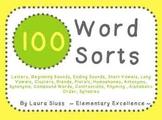 Word Sorts MEGA Pack!! 100 Sorts (beginning sounds, vowels, blends, etc)