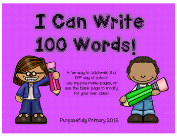 100 Words!