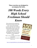 100 Words Every High School Freshman Should Know Activity Pack