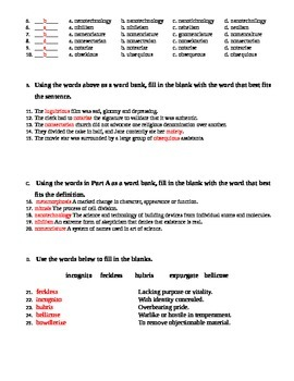 100 Words Every High School Graduate Should Know #6 (Vocabulary 51-60)