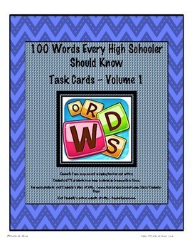 100 Words Every High Schooler Should Know Jumbo Bundle