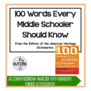 100 Words Every Middle Schooler Should Know Flashcards