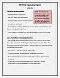 100 Words Vocabulary Program